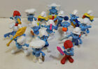 17 Vintage Smurfs Figures Lot