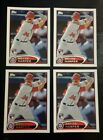BRYCE HARPER RC 2012 Topps Mini ONLINE EXCLUSIVE ROOKIE LOT (4) #661 NATIONALS