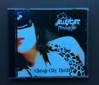 ALLEYCAT SCRATCH Cheap City Thrills CD EP EX+ Cond 5 Tracks Glam Rock RARE