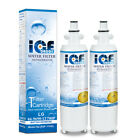 ICEDADDY for LG LT700P, ADQ36006101, 46-9690 2Pack (Get FREE LT120F Air Filter)