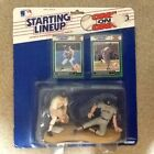 VINTAGE 1989 DON MATTINGLY NY YANKEES WADE BOGGS RED SOX STARTING LINEUP FIGURES