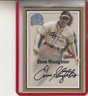 2000 FLEER GREATS OF THE GAME ENOS SLAUGHTER