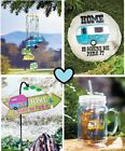 Decorative Happy Campers Garden Collection Windchime Stepping Stone Mug Sign