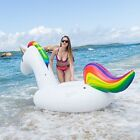 Slalya Giant unicorn Swimming pool float 8 inflatable raft for kids and adults