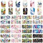 Nail Art Water Transfer Nail Sticker Butterfly Nail Decals Nail Decorations Sale
