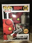 Funko Pop! Comics Hellboy Chase # 01 Brand NEW Ships FREE In POP Protector -