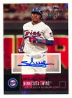 2016 TOPPS NATIONAL BASEBALL CARD DAY MIGUEL SANO RC AUTO AUTOGRAPH SP #79 160