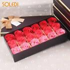 Rose Soap Flower Gift Bath Petal Wedding Body Day Set Party Heart Decoration