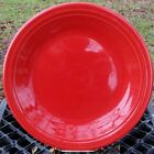 DINNER PLATE Scarlet Red HOMER LAUGHLIN FIESTA WARE 10.5
