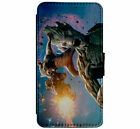Marvel  Groot & Rocket Racoon Leather Flip Phone Case for iPhone & Samsung D3