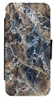 Marble Effect Art Leather Flip Phone Case Cover for iPhone & Samsung D3