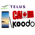 Koodo Canada Network Unlock code for Samsung Galaxy S8 plus S5