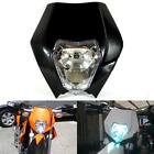 KTM R SX EXC XC XCF SXF 65 85 105 250 350 450 525 Black Headlight Fairing MX