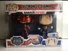 Funko Pop Marvel vs. Capcom Infinite - Ultron vs. Sigma Exclusive Vinyl 2-Pack