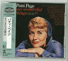 PATTI PAGE Say wonderful things JAPAN 1987 32DP-674 NEW s5700