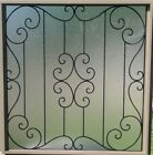 Sealed Wrought Iron Window Grill,Insulated Window Grill, Wrought Iron Window