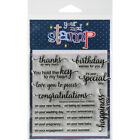 Your Next Stamp CYNS172 Clear Stamps 4X4 Whatnot Sentiment 4