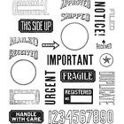 Tim Holtz Cling Rubber Stamps Mail Art CMS339