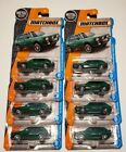 2017 Matchbox 90 Volkswagen Golf Country Lot 16 8 Green 8 Teal variations