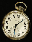 Elgin Railroad Grade 478 Pocketwatch 21J 16s Works Great Very Nice Runs Strong