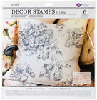 Prima Marketing Iron Orchid Designs Decor Clear Stamps 12X12 Floral