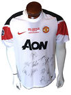 2011 Manchester United FC team signed jersey 14 auto Wembley Stadium Holo COA