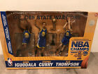 Mcfarlane Golden State Warriors NBA Champions 3 Pack + Curry + Green + Durant