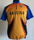 NWOT RALEIGH Team Cycling Jersey Retro Road Bike Short Sleeve Bike Made in Italy