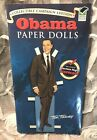 Collectible Campaign Edition OBAMA Paper Dolls Book UNCUT Tom Tierney 2008