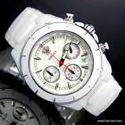 Versace 11CC1D001SC01 White Ceramic Swiss Made Automatic Chronograph Watch New