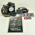 Nikon D700 121MP Digital SLR Camera with MB D10 book batteries