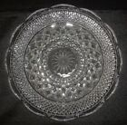 Wexford Relish Dish Tray 5 Part 11 In Round Clear Glass Vintage Anchor Hocking