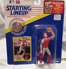 1991 Todd Zeile Starting Lineup Superstar Kenner Special Edition w/Coin