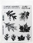 Stampers Anonymous Tim Holtz Cling Stamps 7X85 Falling Leaves