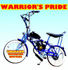WARRIORS PRIDE GAS PETROL MOTOR BIKE BICYCLE 48 49 50 66 80 CC SCOOTER MOPEED