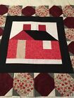 Handmade Patchwork Quilt Block 24 1 2 Square NEW