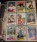 1985 Topps Baseball Card Complete Set (1-792) in Binder + Traded Set !!!