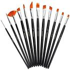 Fine Paint Brush Xpassion Professional Handmade 12Pieces Artist Brushes Set for