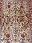 A VERY ATTRACTIVE SEMI ANTIQUE PERSIAN VERAMIN ZIEGLER RUG CIRCA 1960S