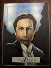 X-Files IDW Limited Official Sketch Card by Dan Harding