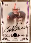 2017 Leaf Pearl Bob Griese On Card Auto Purple 1 2 Miami Dolphins 1 1