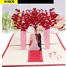 New 3D Pop Up Love Greeting Card Valentine Wedding Party Anniversary Gift US