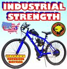 NEW 2018 USA SELLER INDUSTRIAL STRENGTH GAS MOTOR BIKE 50 80 CC SCOOTER MOPED