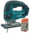 Makita 18v DJV180 LXT Cordless Jigsaw Lithium Ion BODY ONLY + 20 Assorted Blades