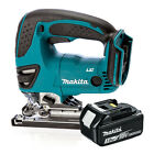 Makita 18v DJV180Z Cordless Jigsaw Li-Ion Body & 1x Makita BL1830 3.0Ah Battery
