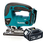 Makita 18v DJV180Z Cordless Jigsaw Li-Ion Body & 1x Makita BL1840 4.0Ah Battery