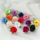 10pcs Small Silk Rose Bud Heads Artificial Fake Flower Wedding Party Home Decor
