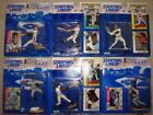 LOT OF 6 STARTING LINEUP LINE UP BASEBALL FIGURES NIB MINT A-ROD CHIPPER McGUIRE