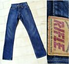Womens Rifle Jeans 9243 W26 L31 classic straight extra long Vintage 90s