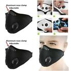 Face Mouth Mask Anti Dust Washable With Carbon Filter For Paintball Cycling, New